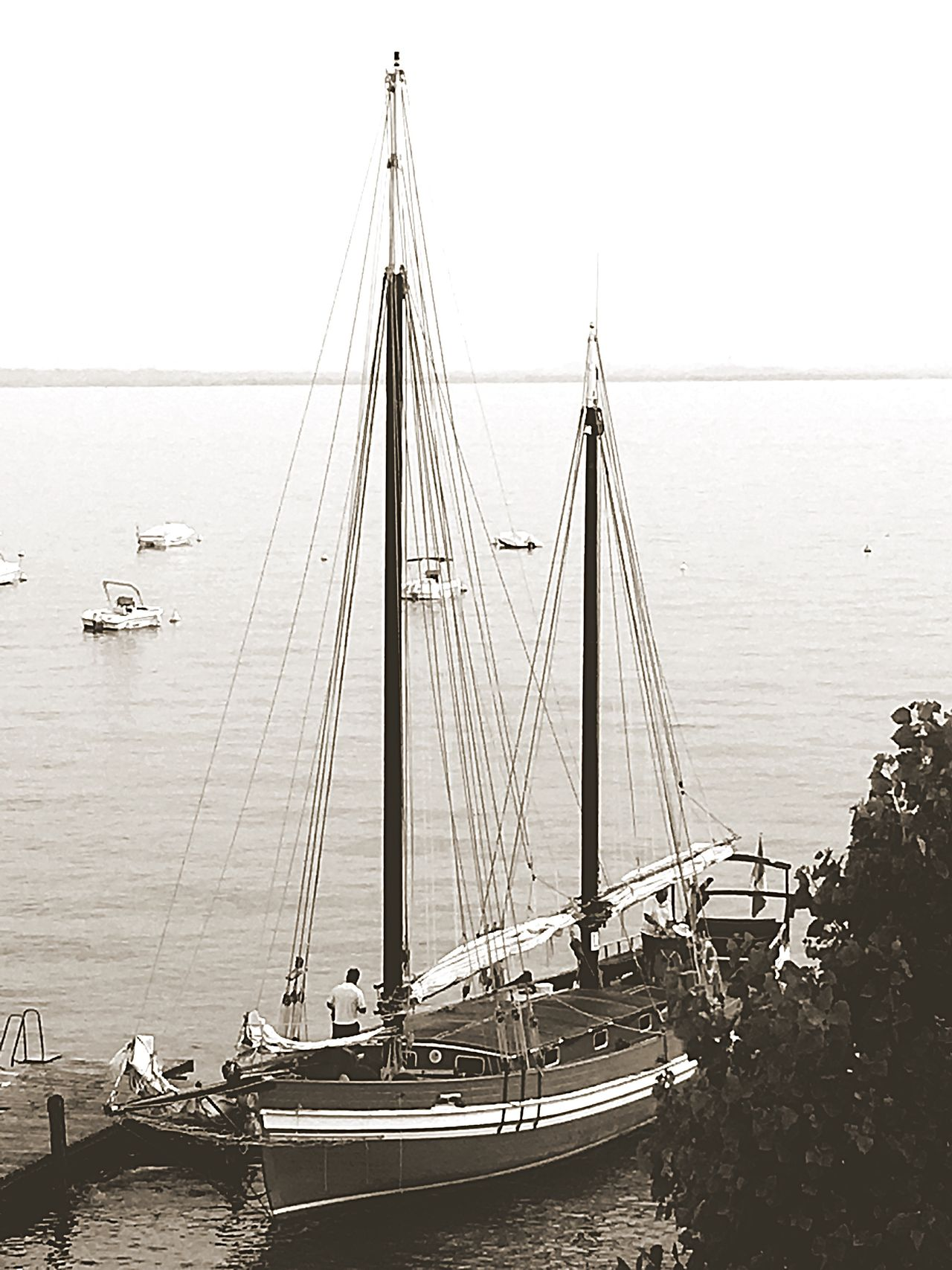 Italy🇮🇹 Arrivel Sea View Fine Art Photograhy Fine Art Fine Art Photography Old But Awesome Sailing Ship Sailboat Transportation Natural Beauty Sea And Sky Sailing
