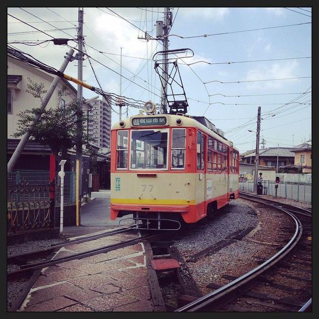 伊予鉄 路面電車 松山 道後温泉 そういえばこんなん走ってました??