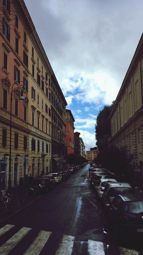 Sky Cloud - Sky Italy Rome City Italy🇮🇹 Romestreets