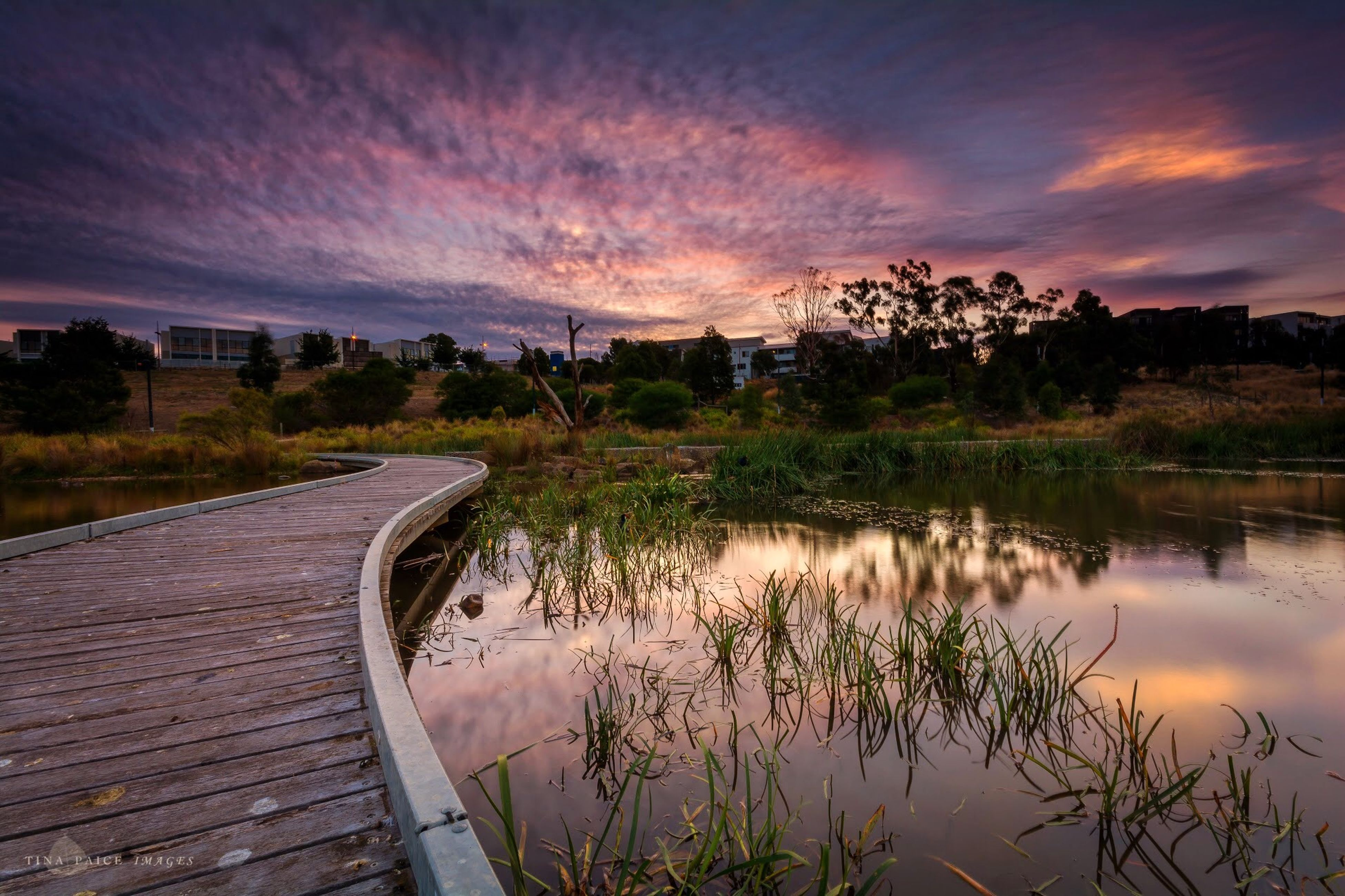water, sky, sunset, reflection, cloud - sky, lake, tranquility, tranquil scene, tree, scenics, beauty in nature, nature, cloudy, cloud, river, idyllic, orange color, outdoors, plant, dramatic sky