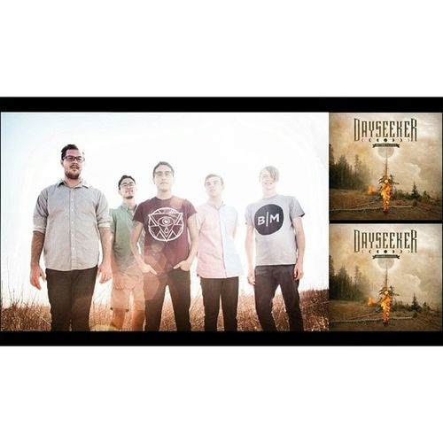 """My buds from dayseeker released their album """"What it Means To Be Defeated"""" yesterday. Be sure to check it out and buy on itunes and what not. Hands down one of the best albums out there, has been on repeat non stop for me. #dayseeker #band #invoguerecords #records #whatitmeanstobedefeated #album #newalbum #promos #cool #chillguy #listentoit #buyit #potd"""