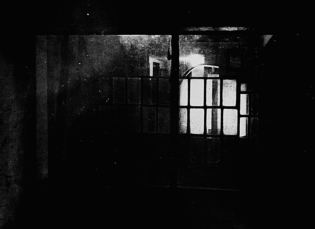 Architecture Built Structure No People Window Indoors  Day Burtonjlomax Blackieapp Blackandwhite Monochrome Surrealism Photography Surreal Shadow Doorways Dramatic Sky Ominous Clouds