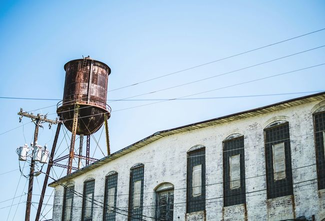 The old water tower. Outdoors North Carolina Western North Carolina Abandoned Buildings Old Buildings