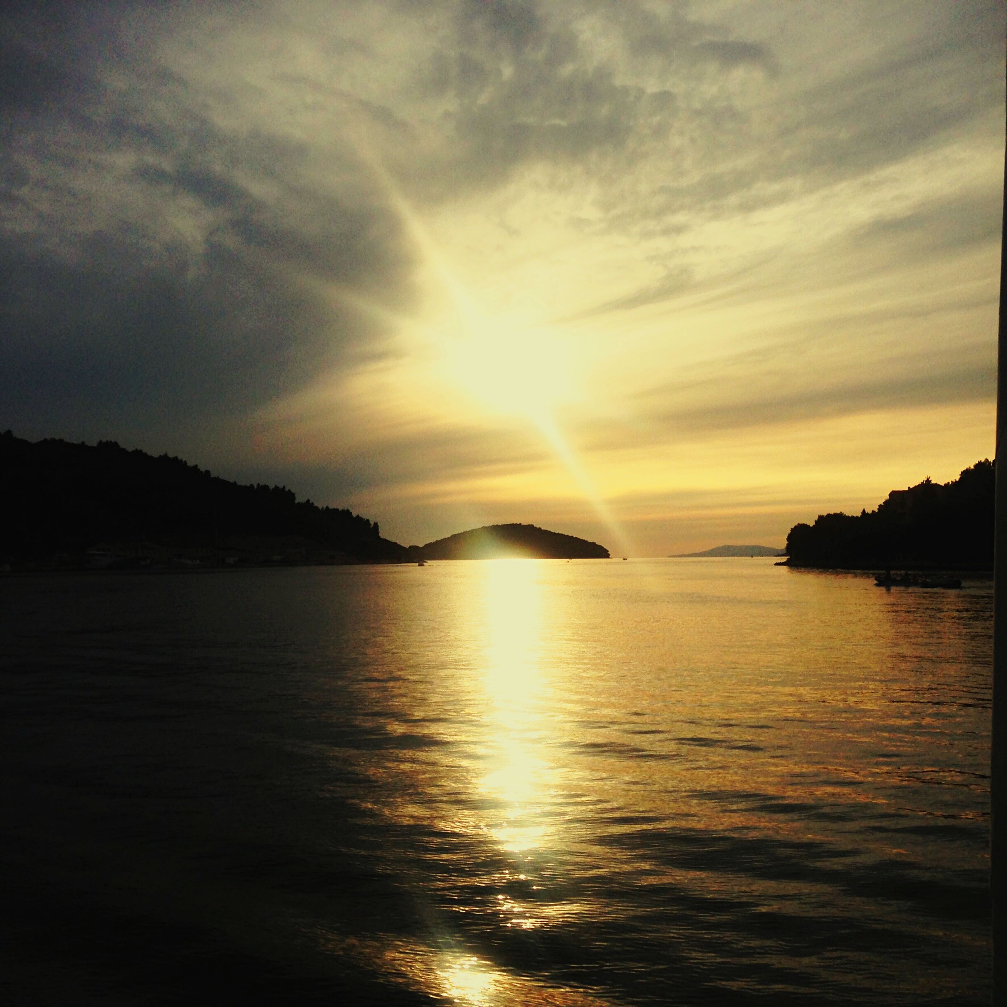 Sailing Holiday Taking Photos Sunset Sunset_collection Hello World Yacht Going Sailing