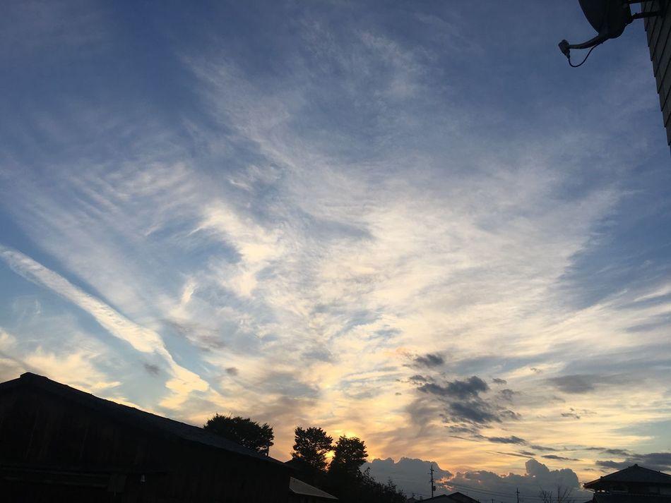 Japan Sky Enjoying Life 夕暮れ 黄昏