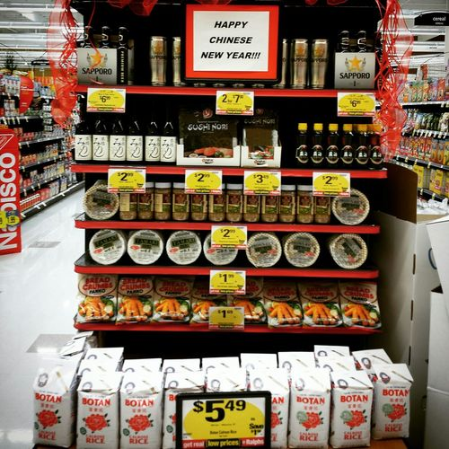 Happy Chinese New Year with mostly Japanese products lol. Taking Photos cell phone pics Photography