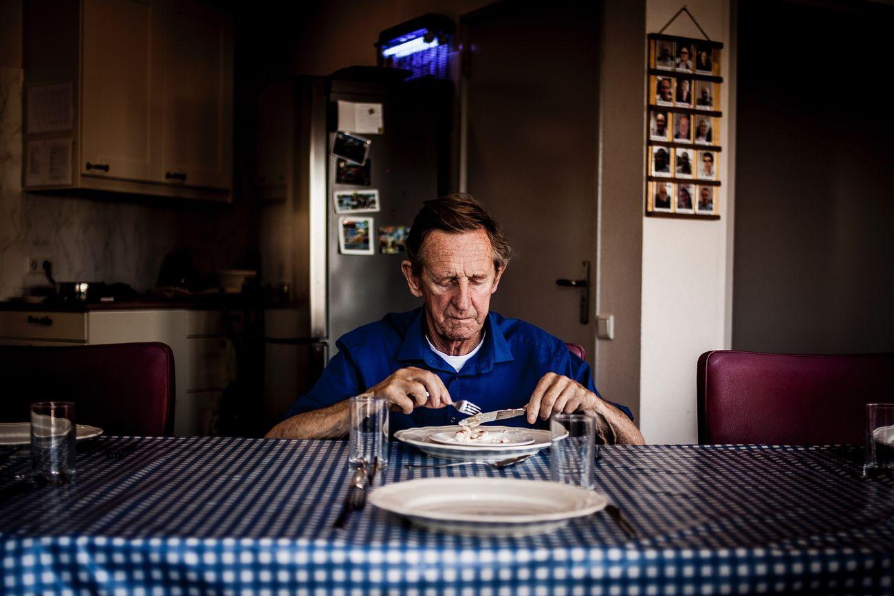 AlzheimersAwareness Forgotten Loneliness Portrait Sadness