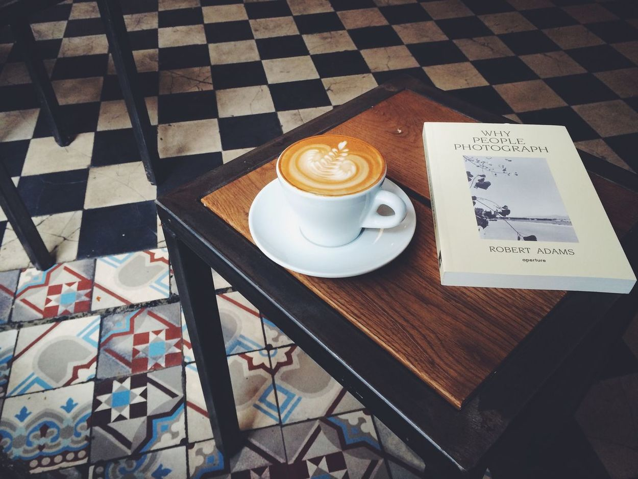 Each life is made up of mistakes and learning, waiting and growing, practicing patience and being persistent. | Practicing patience and reading my first book about photography in one of the hidden coffee places in Kreuzberg. Coffee Break Vscocam vsco VSCO