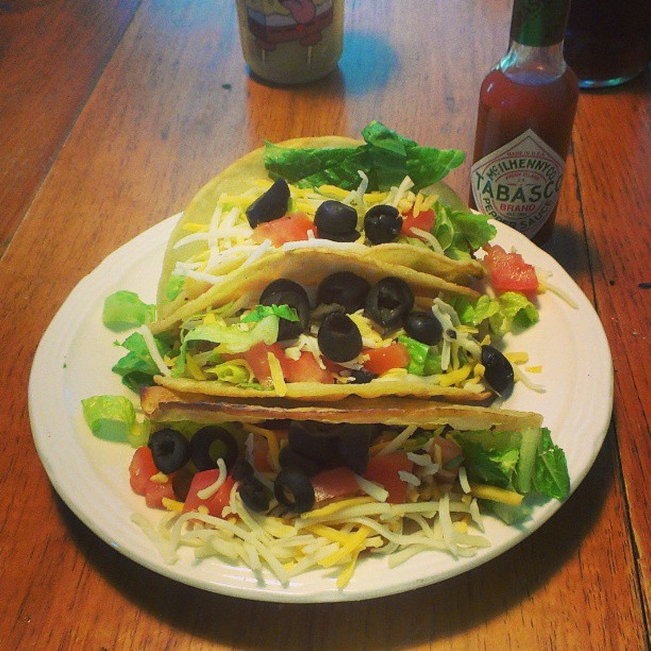 My husband made #tacos for #dinner (300 calories). They were fantastic! Menwhocook Yummy Dinner Food Foodie Diet Weightloss Tacos Foodporn Foodstagram Lowfat Lowcalorie Tacoporn Lowcal Nylonsnack