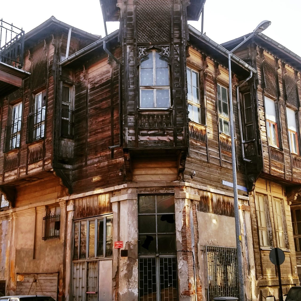 Architecture House Mansion Old Buildings Abondoned Edirne Turkey Built Structure Window Building Exterior No People Sky Day Outdoors