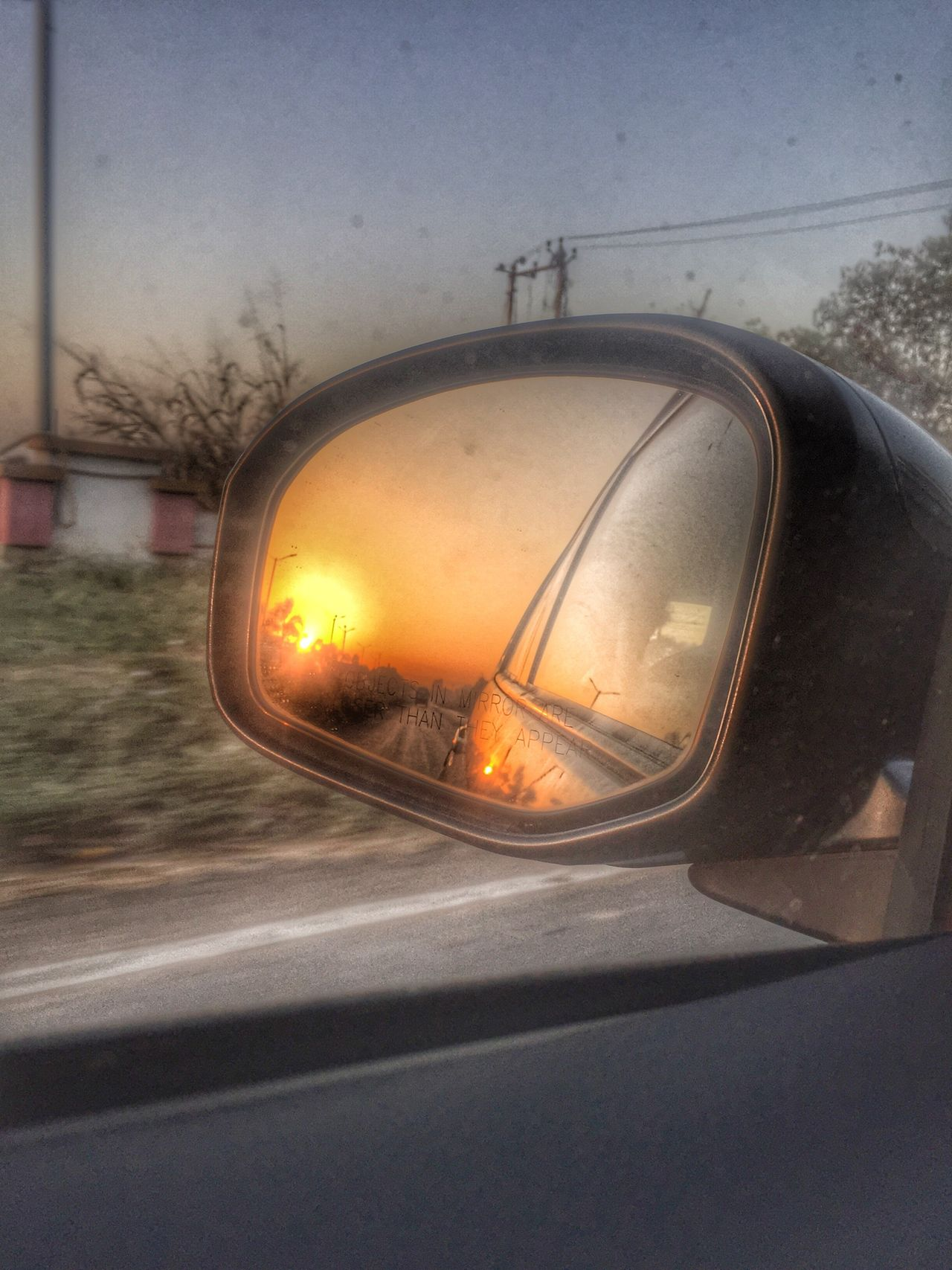 Sunshine ☀️ tTransportationcCarlLand VehiclerReflectionrRoadsSide-view MirrormMode Of TransportvVehicle MirrorjJourneysSunsetnNo PeoplesSkycClose-updDaynNatureoOutdoors
