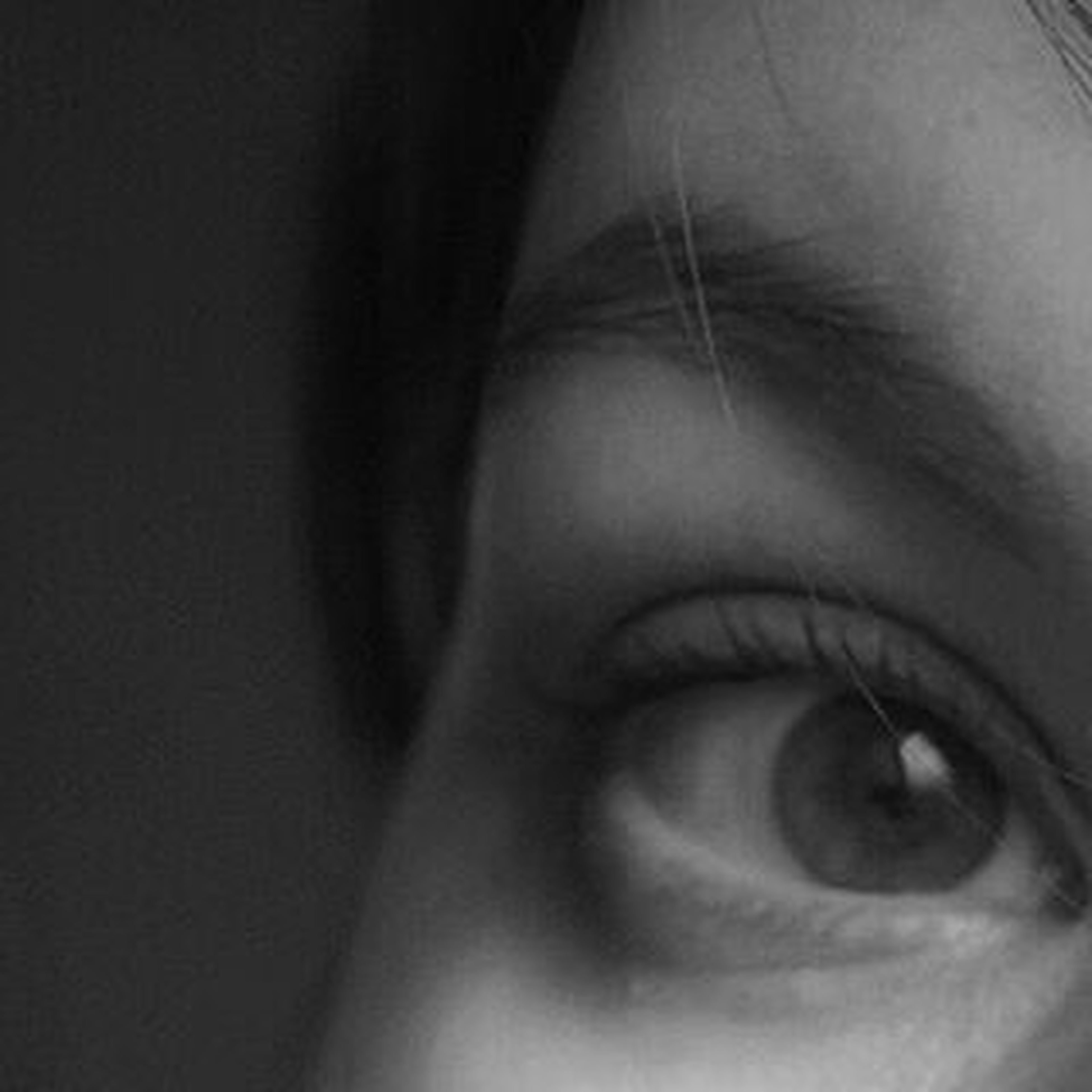close-up, headshot, lifestyles, human face, human eye, young adult, human skin, indoors, part of, person, young women, looking at camera, eyelash, portrait, contemplation, serious