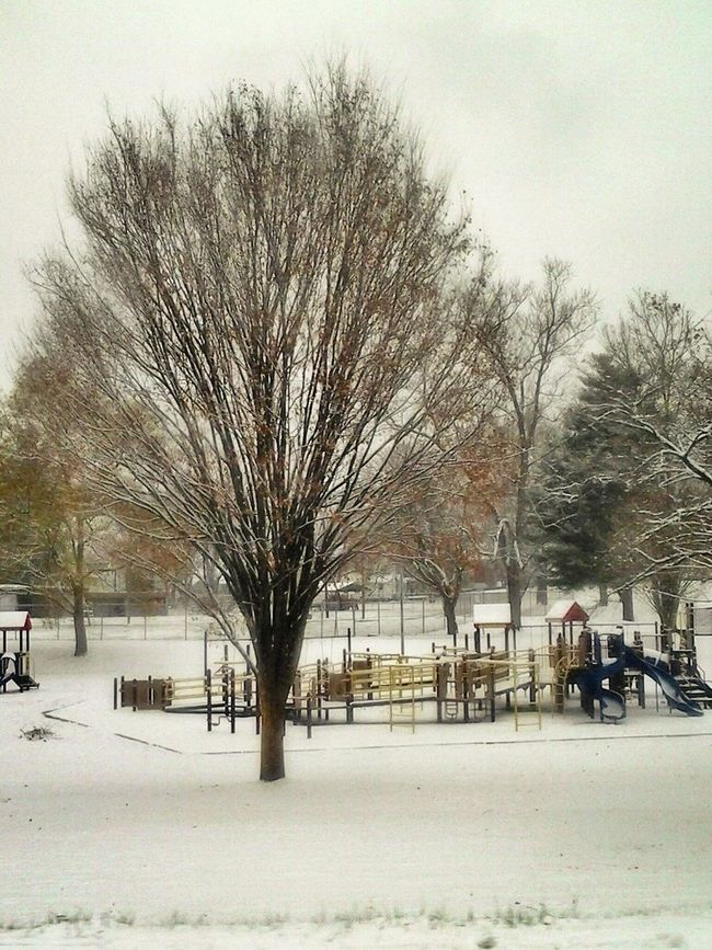 MEMORIAL PARK.. Snowy Day . Eye4photography  Trying To Stay Warm