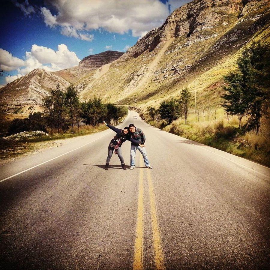 Viaje genial con amigos que parecen hermanos y con un paisaje espectacular .. :3 amo a mi Perú .. :)