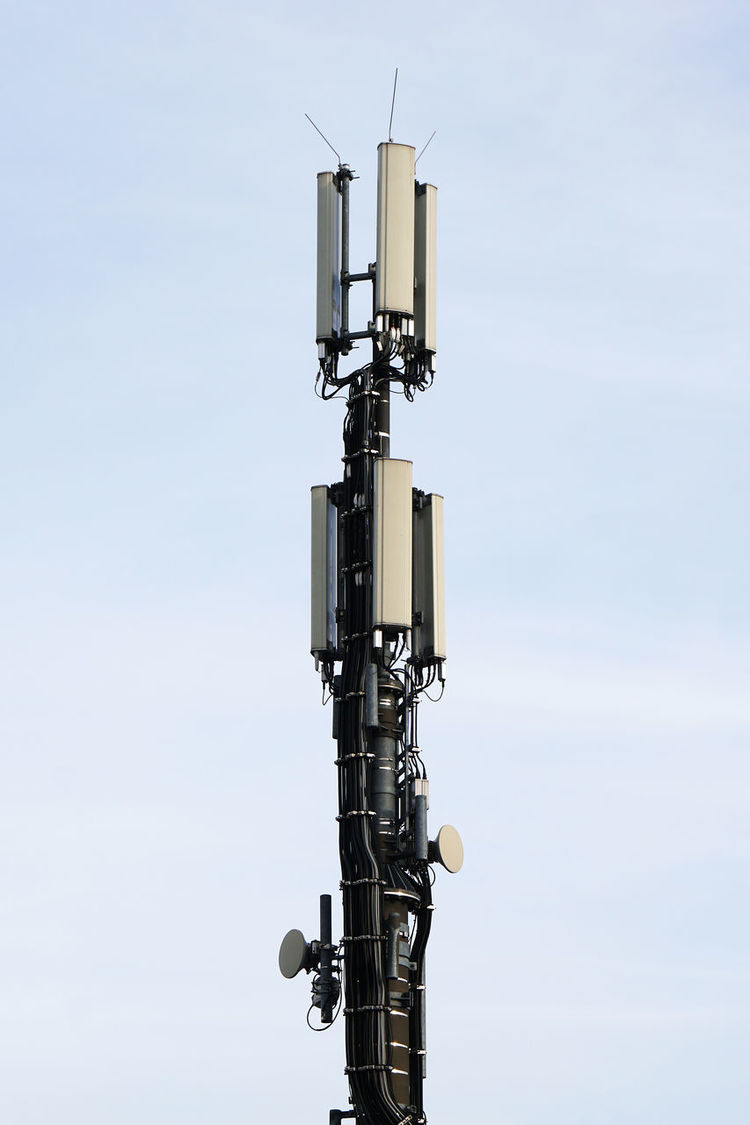 mobile communication antenna Antenna Day Low Angle View Mobile Communication Antenna Mobilfunk No People Outdoors Technology Telecommunication Wireless