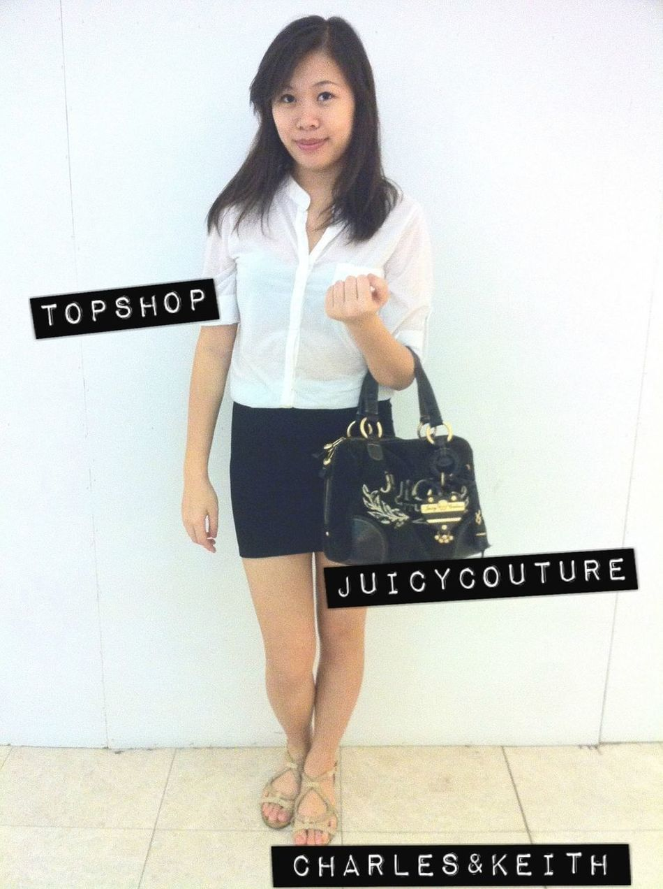 Ootd Topshop Juicy Couture  Charles&keith