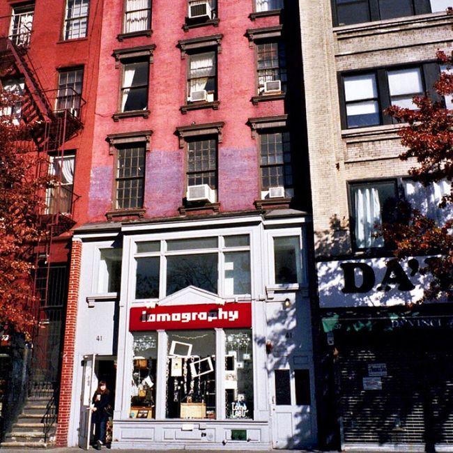 Lomography Lomo Store I Shoot Film Real Film Klasse W NY