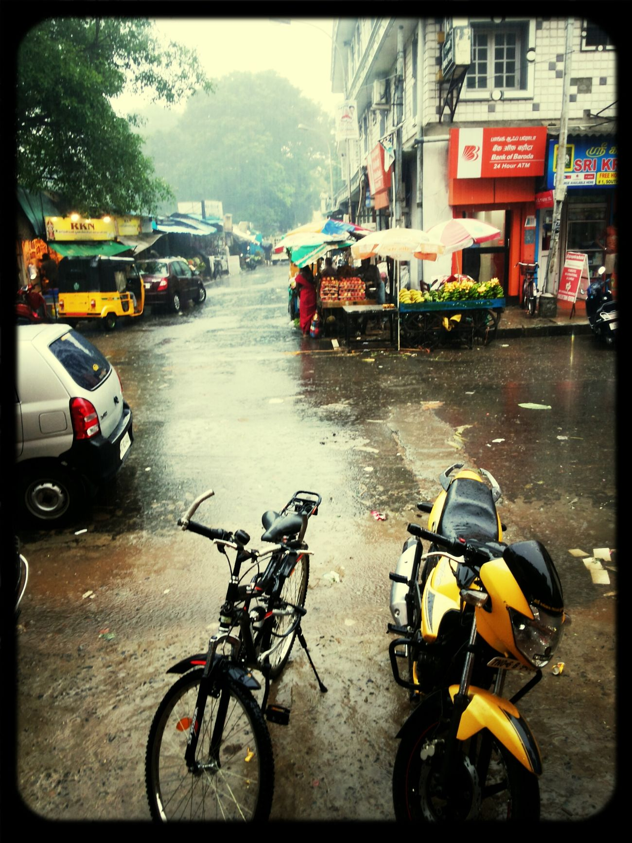 Mylapore Awesome Rainy Day