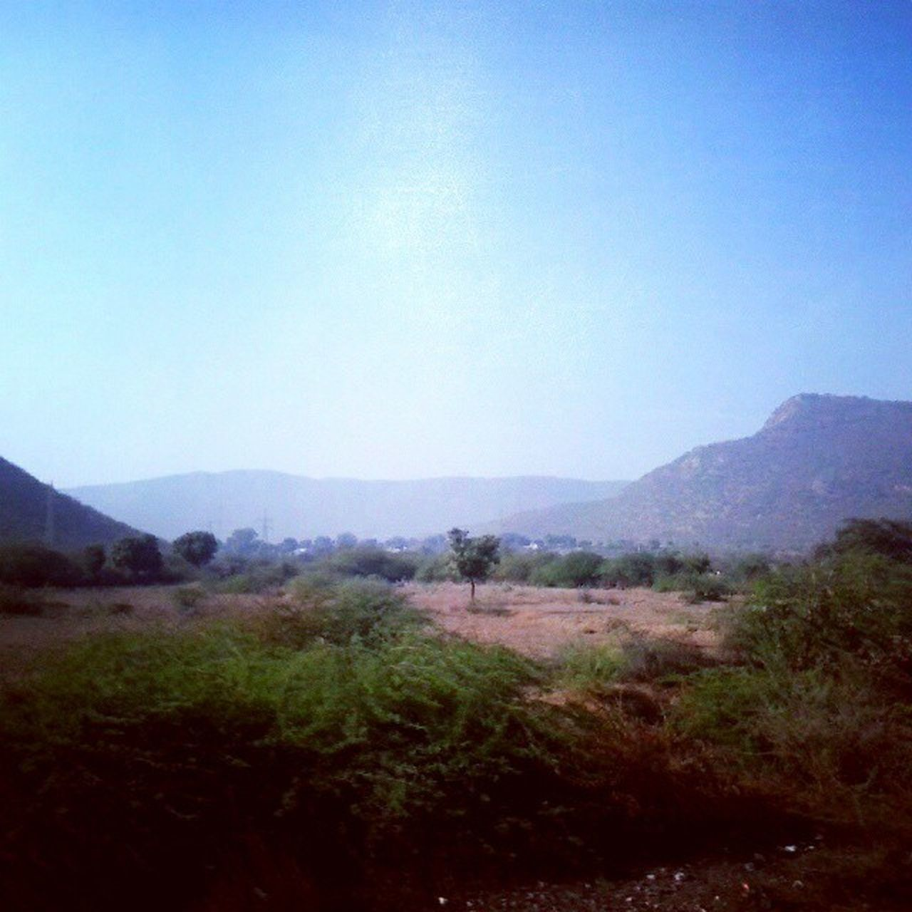 Between these hills there lies my home Lakheri Rajasthan Arawali