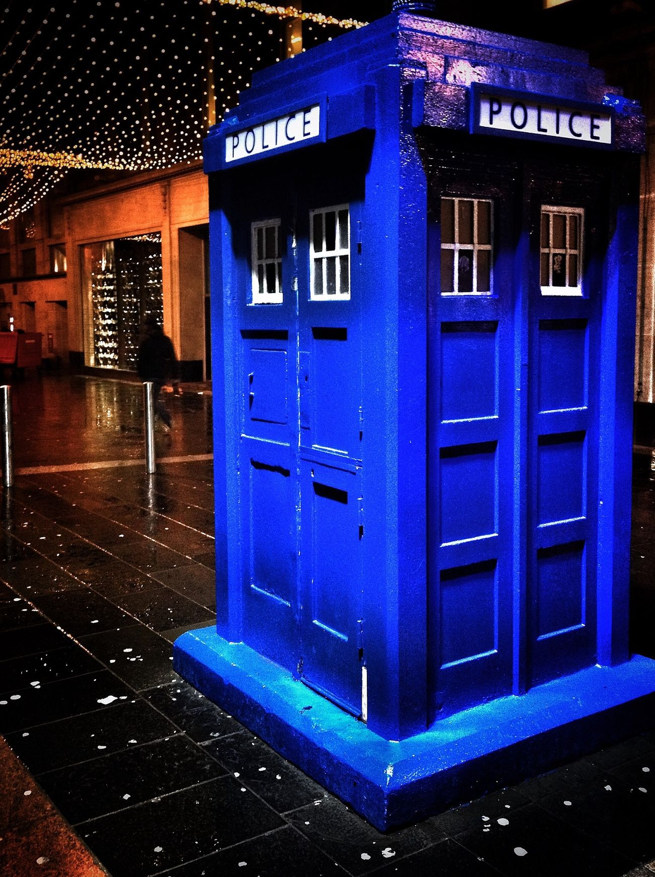 Glasgow Tardis Glasgow  Tardis