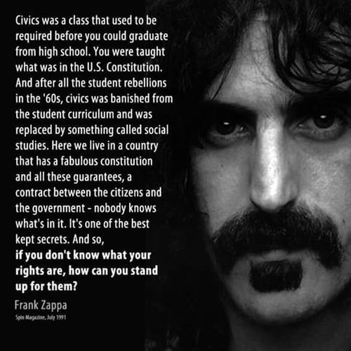 Frank Zappa Headshot Human Face Evil Dark One Person Young Adult Archival People Close-up Adult Adults Only Human Body Part One Man Only Arrest
