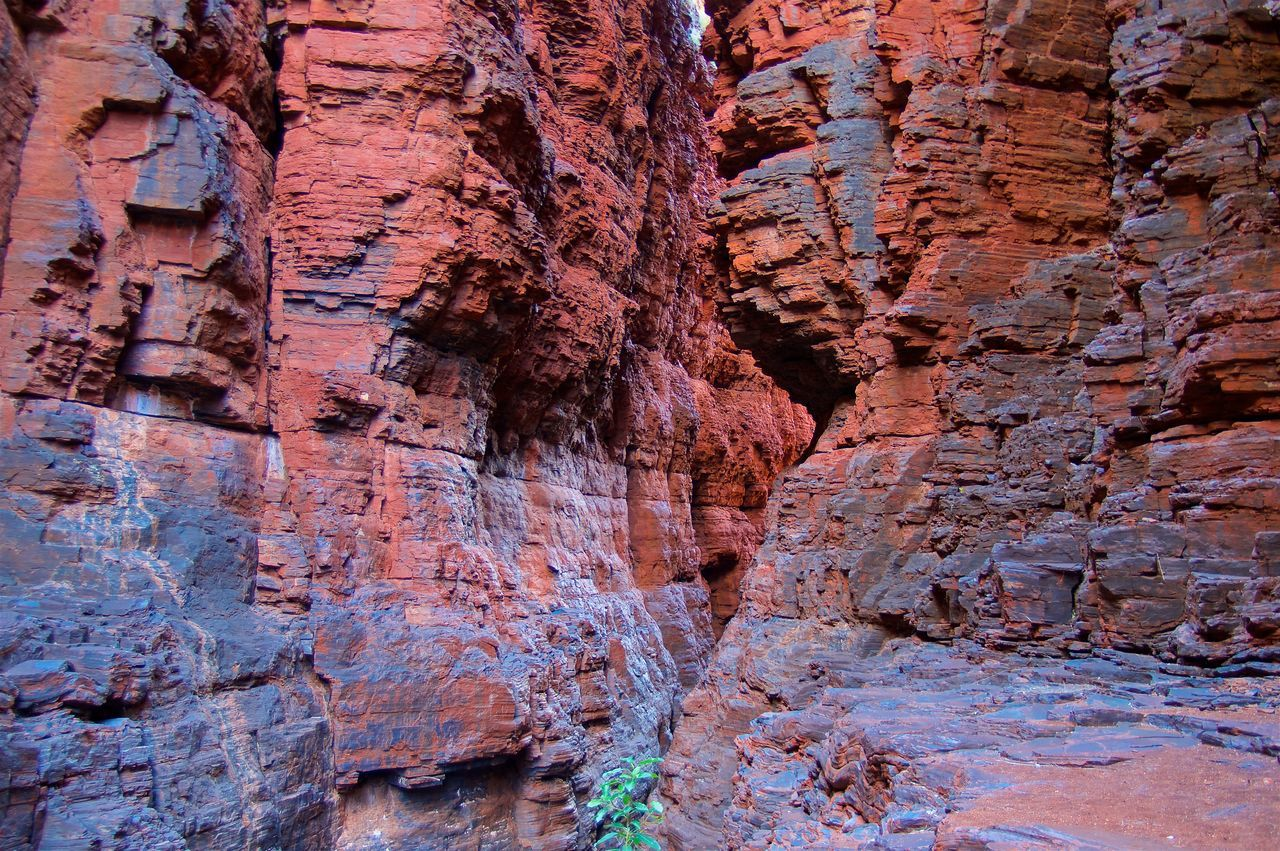 Colorful Gorge Beautiful Beauty In Nature Day Geology Gorge Landscape Nature No People Outdoors Physical Geography Rock - Object Rock Face Rock Formation Rough Scenics