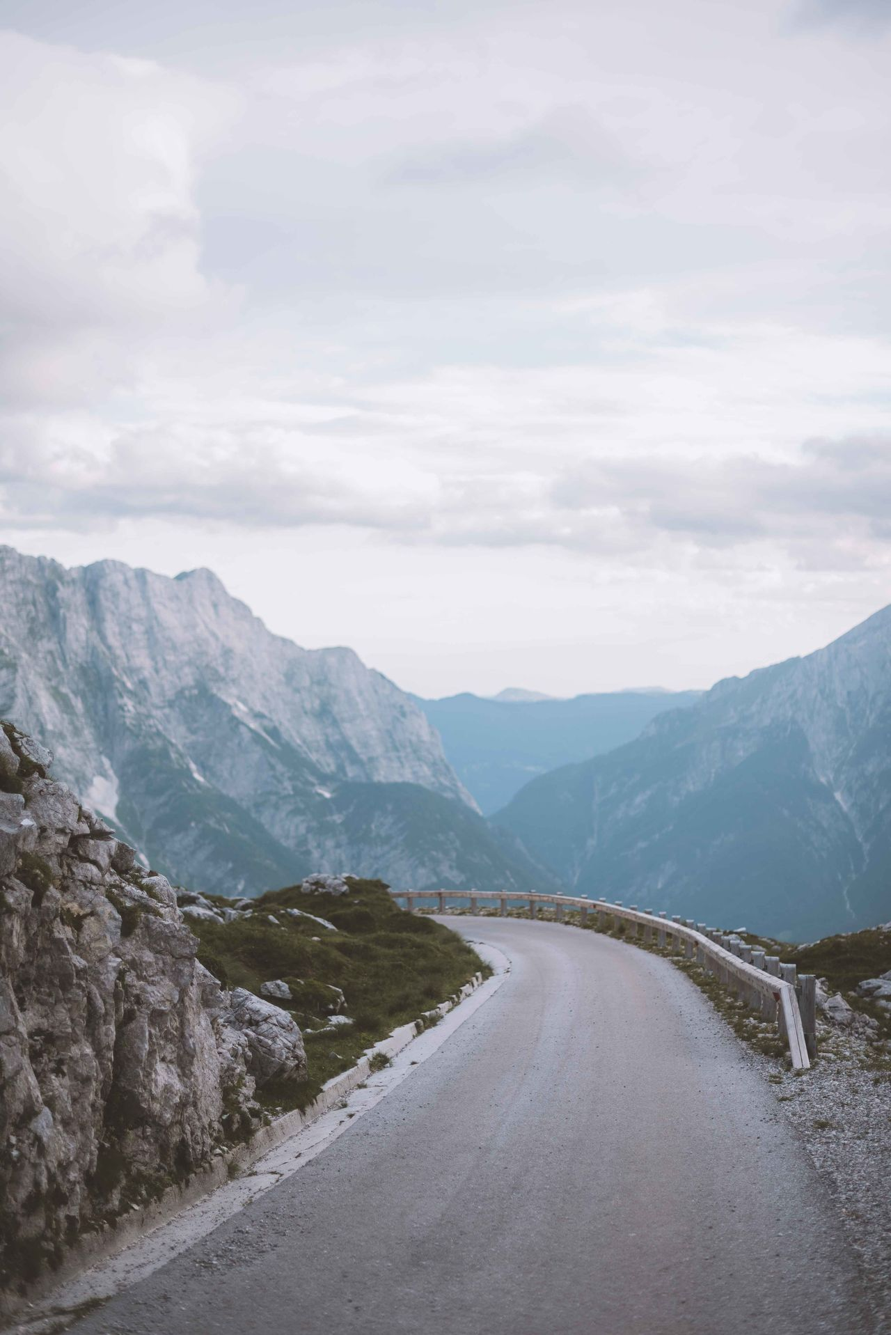 Beauty In Nature Day Landscape Mountain Mountain Range Mountain Road Nature No People Outdoors Road Scenics Sky Winding Road