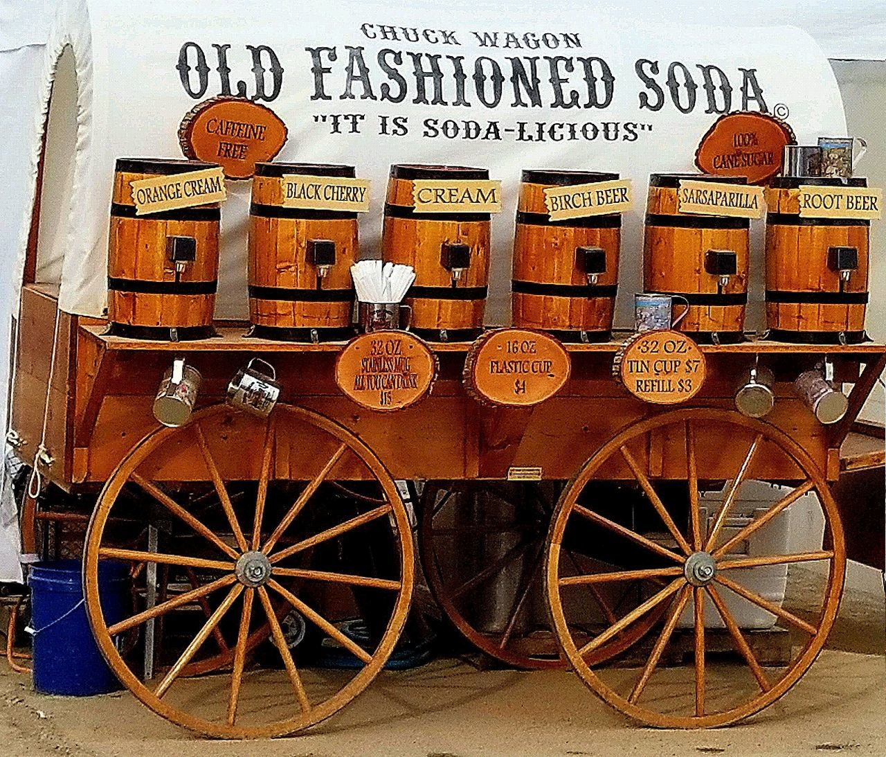 Text Communication Transportation No People Day Outdoors Old Fashioned Soda Stand Soda Stand Maine Fairground