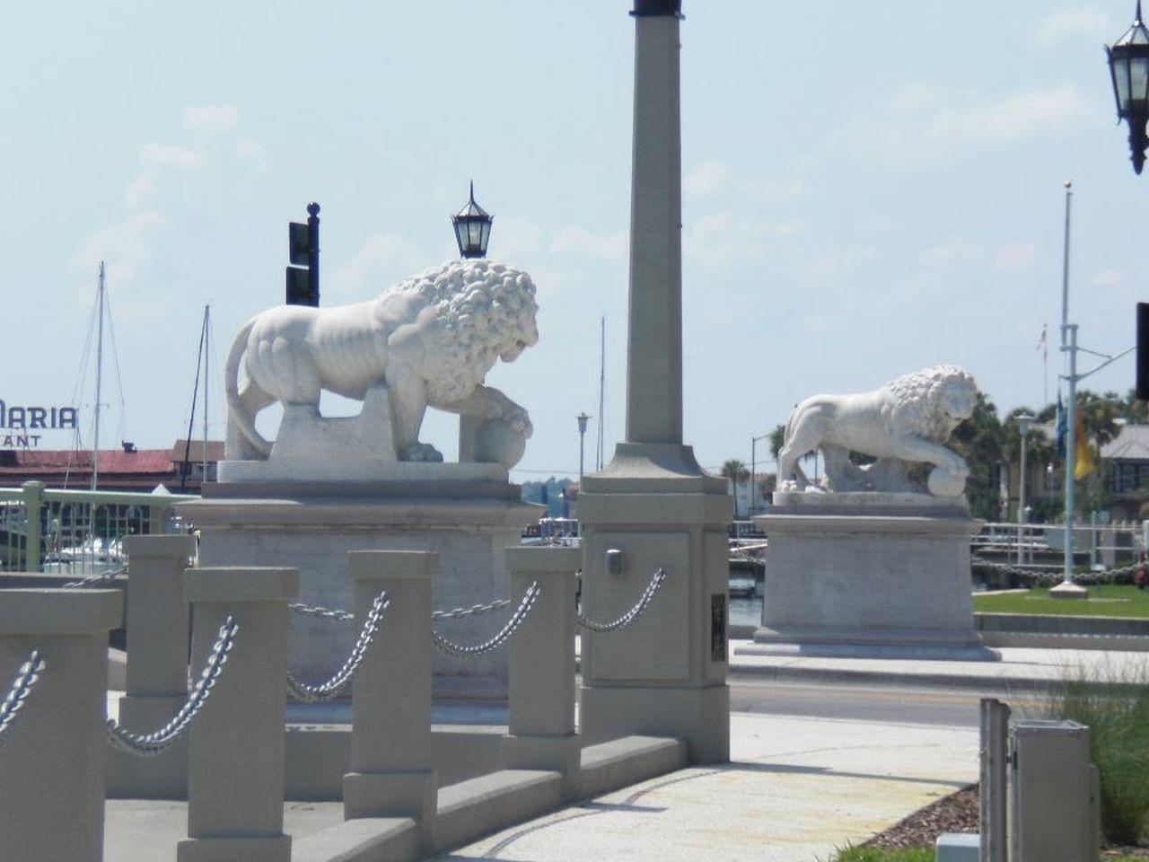 Bridge Bridge Of Lions St. Augustine, FL Lions Bridge St Augustine