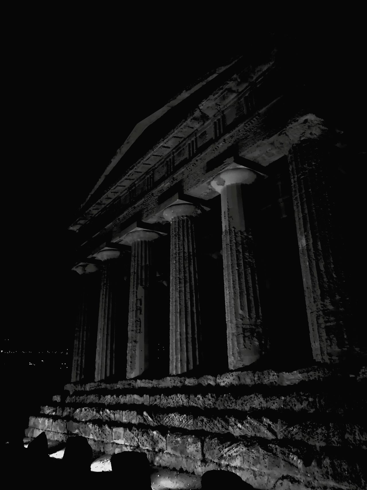 Sicily Italy Agrigento Valle Dei Templi Black And White Black & White MagnaGrecia History Colonnade Famous Place Architectural Column Architecture Ancient Civilization Tourism Monochrome Monochrome Photography Monochrome Photograhy