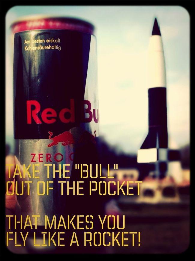 Red Bull Energy Drink Rocket Peenemünde