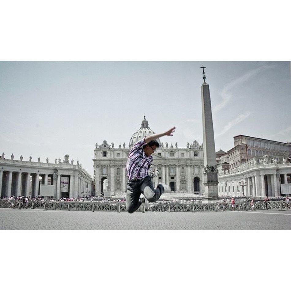 Yay! I'm landing in Vatican!!!!