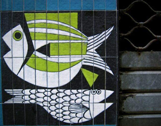 Happy 1rst April! Aprilfoolsday April 1 Fishes!!! Lol Street Art Street Photography Wall Art On The Wall Street Art/Graffiti Art In Marseille