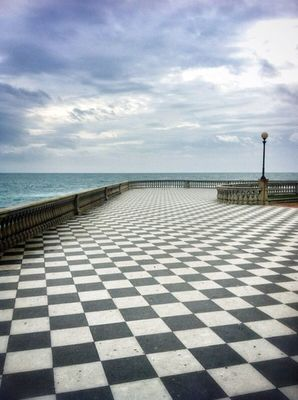 geometry in Livorno by Monica Alba