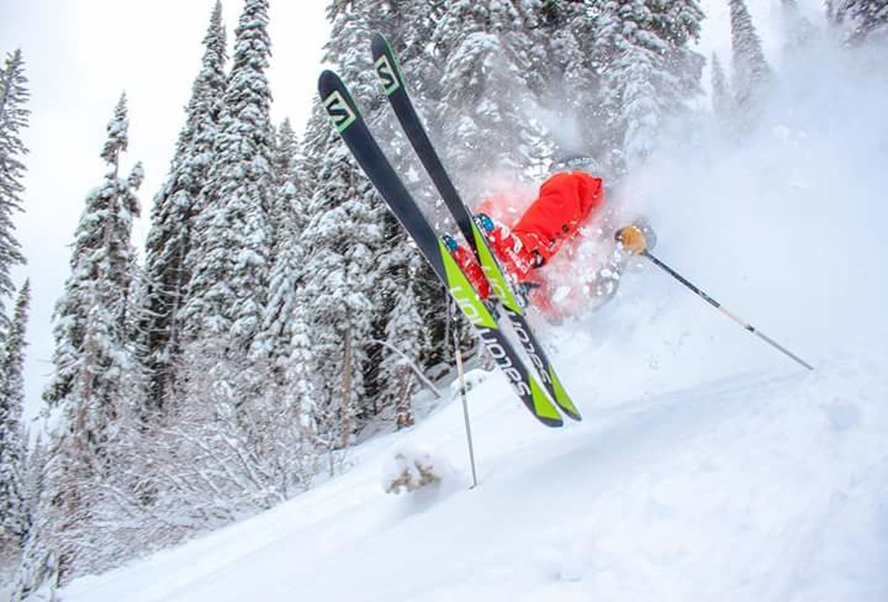 Ski Skier Skiing Whitewater Ski Resort British Columbia Canada Snowsport Snowsports Mountain Sports Powderdays Snow Day Powder Day Salomon Sport Sports Photography Colour Of Life