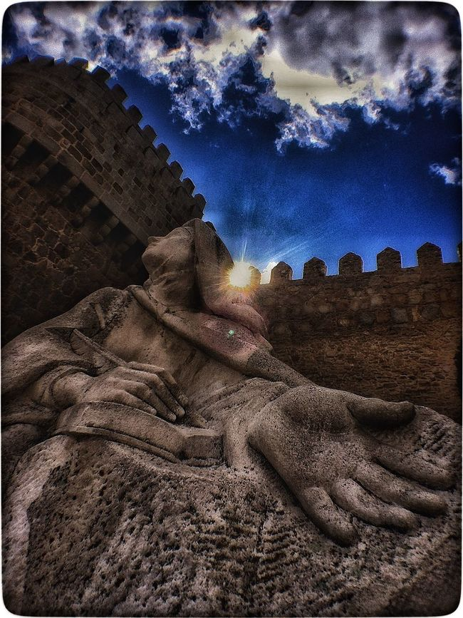 Outside Ávila's Walls. Getting Inspired Discovering Great Works Quality Time Taking Photos IPhoneography Light And Shadow Hdr_Collection Streamzoofamily Enjoying Life Check This Out