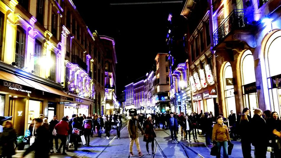 City Nighttime Lighting