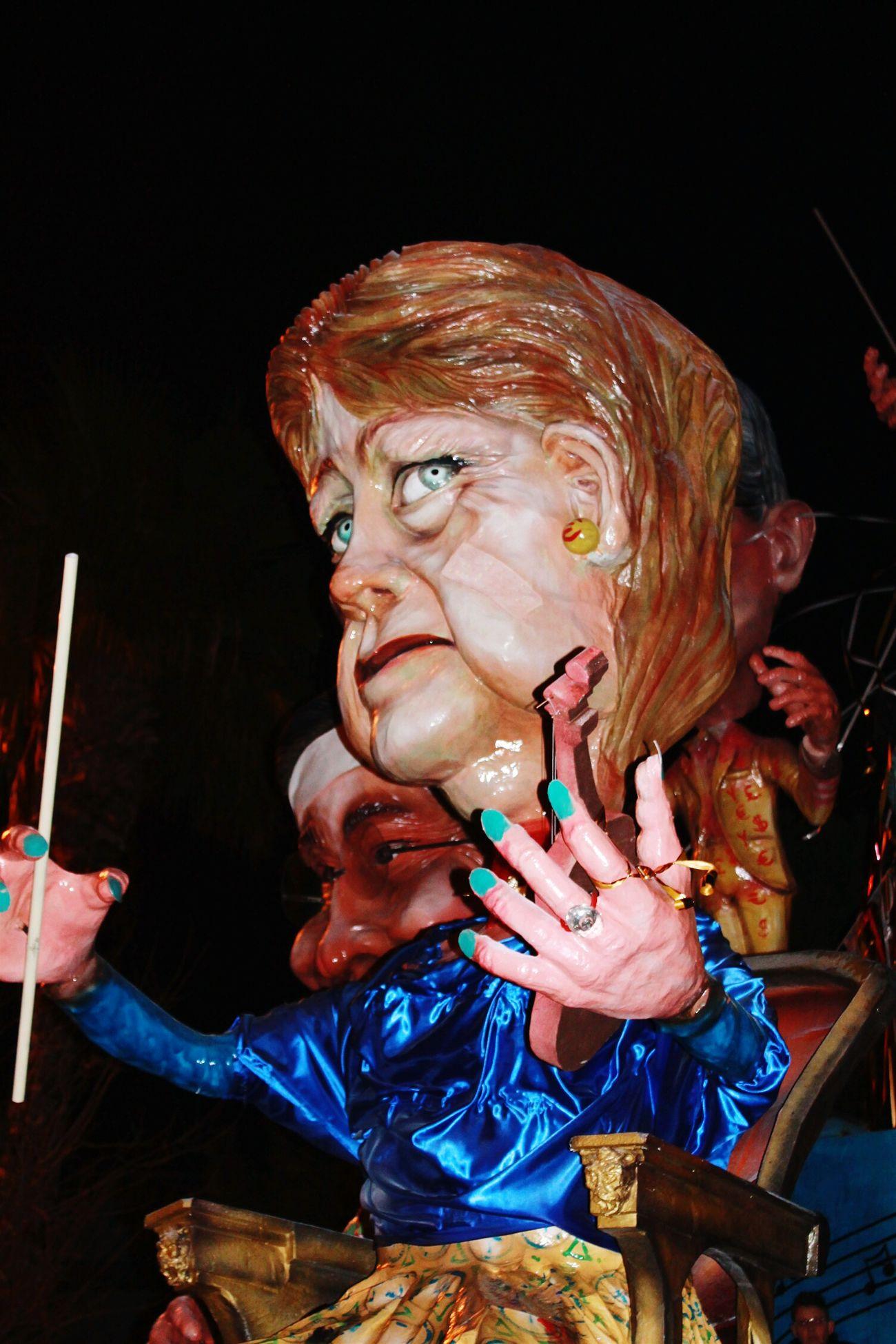 Caricature Merkel 62°edizione Hello World Massafra Italian Carnival Carnevale 2015 Photos Around You