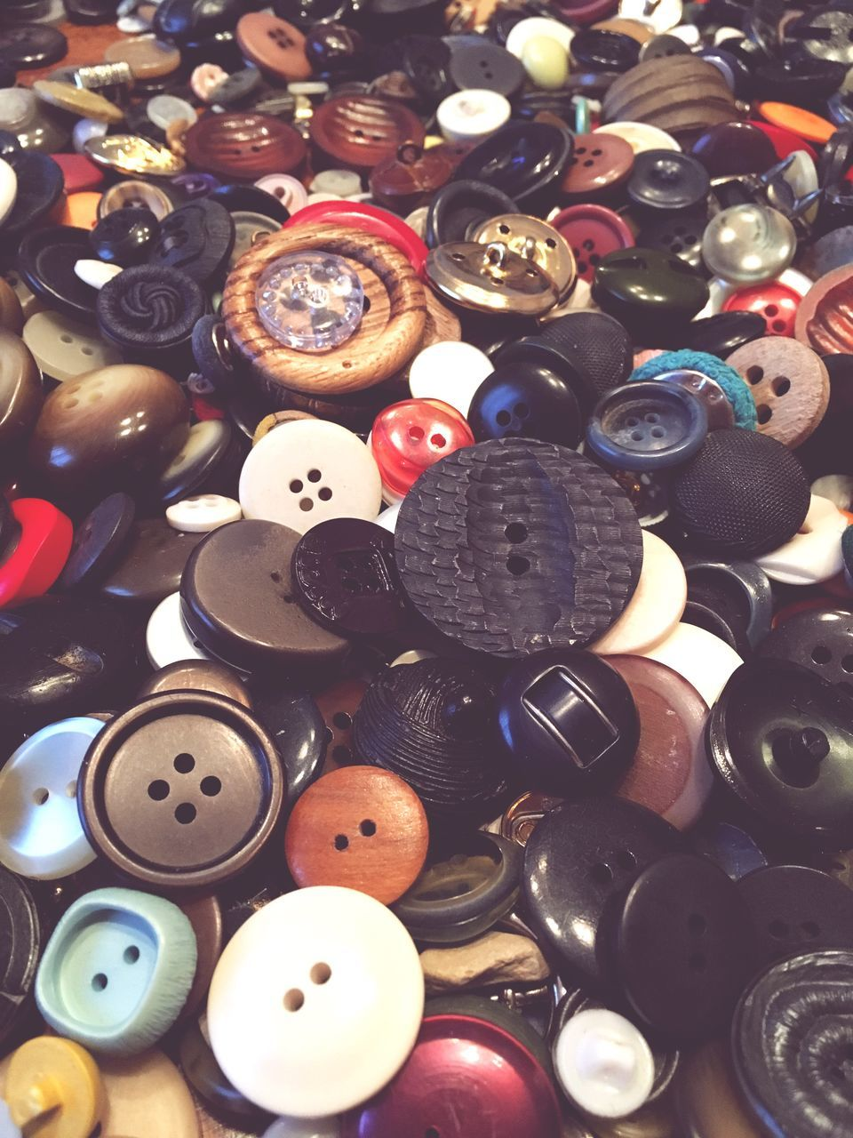 large group of objects, still life, variation, abundance, choice, button, no people, full frame, backgrounds, indoors, collection, multi colored, sewing, close-up, day