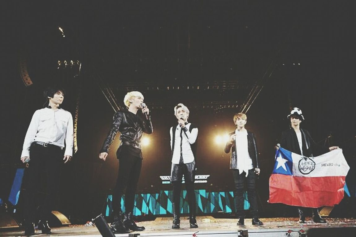 Shinee World ♥ CHILE SANTIAGO 6,4,2014