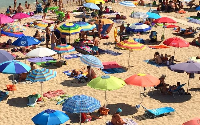 Colors Sea Summer Summer Views Hello World Still Life People Relaxing People Together Enjoying Life