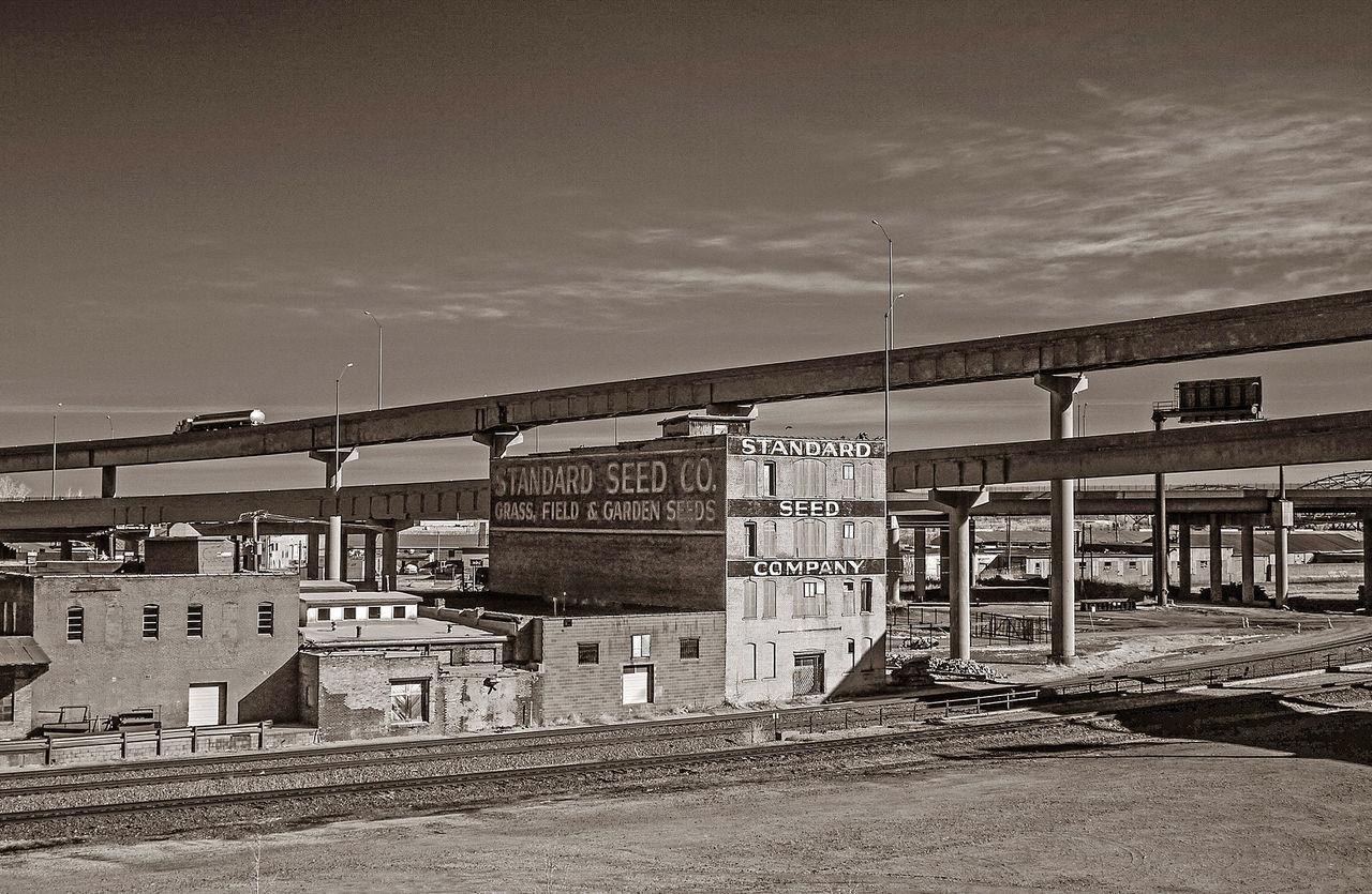 TANKER & STANDARD SEED ~ Kansas City, Missouri ~ Vintage Signs Railroad Divelandscape, Divestreetoghrophy, Cityscape, Landscape Dreamscapes