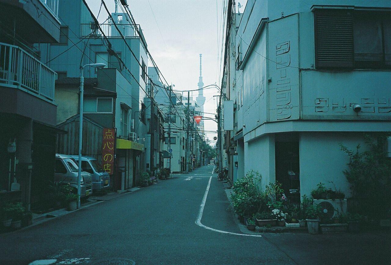 東京 台東区 スカイツリー フィルム ふぃるむカメラ Film Filmcamera Film Photography Fujifilm Cardiaminitiara Pro400 Fujifilmpro400 Skytree Tokyo