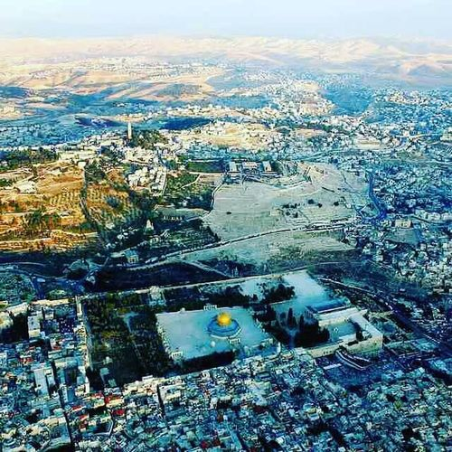 """Abu Dharr (ra) reported that he asked the Prophet (saw), """"O Messenger of Allah, which Masjid was built first on earth""""? The Prophet (saw) replied, """"The Sacred Masjid of Makkah"""". Abu Dharr (ra) again asked, """"Which was next""""? The Prophet (saw) said, """"Masjid Al-Aqsa"""". Abu Dharr (ra) further asked, """"How long was the period between the building of the two Masjids""""? The Prophet (saw) said, """"Forty years"""". Apart from these, offer your prayer anywhere when it is time to pray, although excellence is in praying in these Masjids"""". (Bukhari) Palestine Masjidilaqsa Rrumrah"""