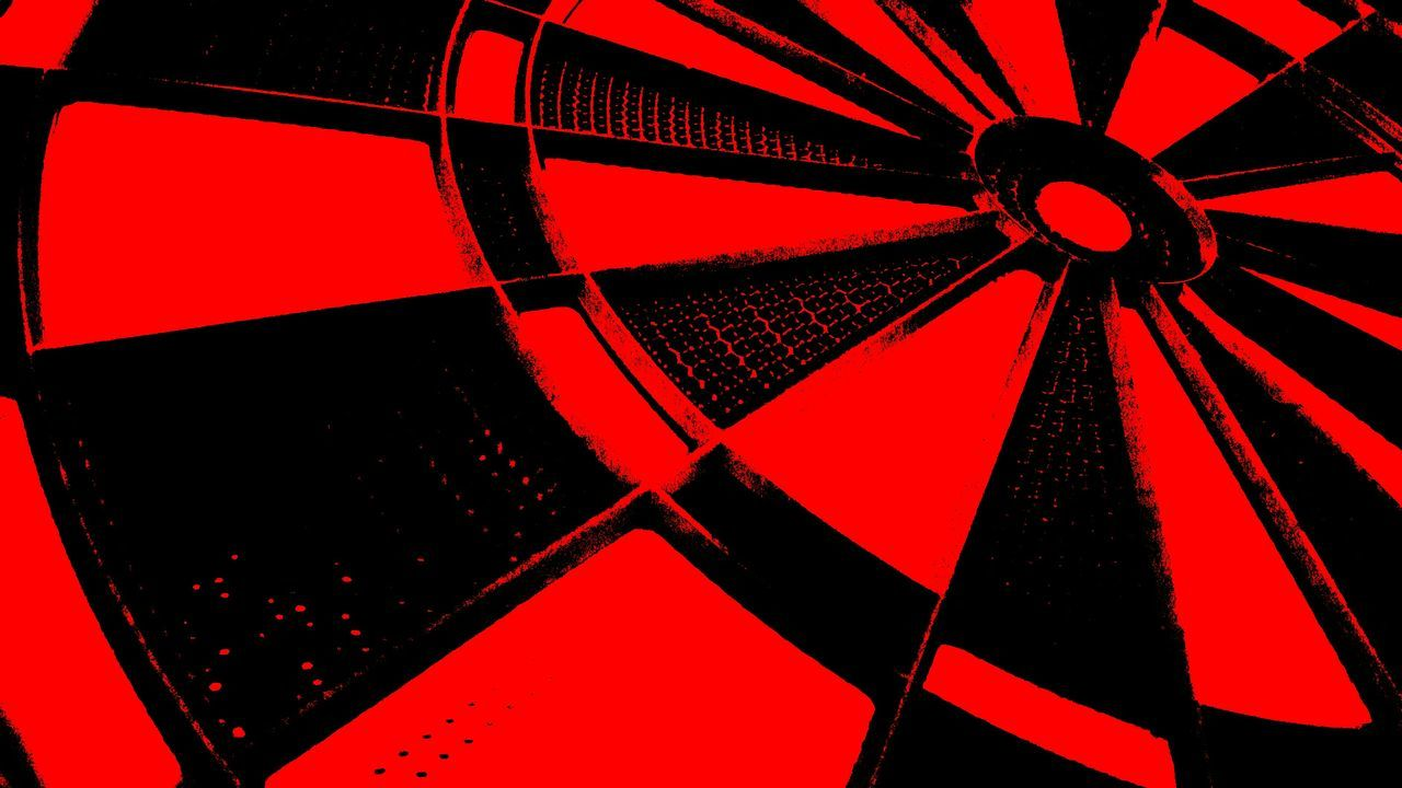 Target - The Middle Of Nowhere Red Black The Middle Close Up Technology Macro Fine Art Creativity Tadaa Community Art Photography Showcase January Photo Art My Photos Adis Art Modern Art Low Angle View Unlimited Technology Berlin, Germany  As I See It Drastic Edit Abstract Adapted To The City