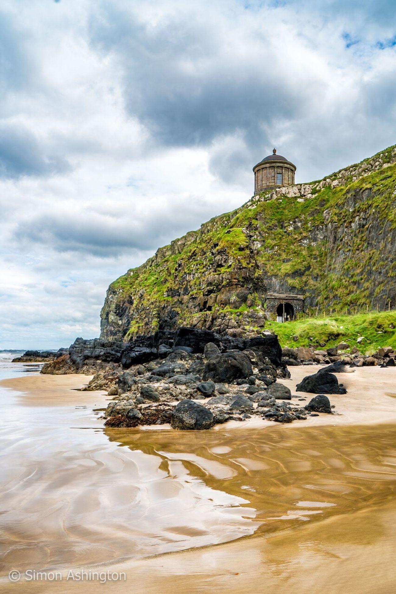 Beach Northern Ireland Northernireland Mussenden Temple Sea Photography Photo Taking Photos