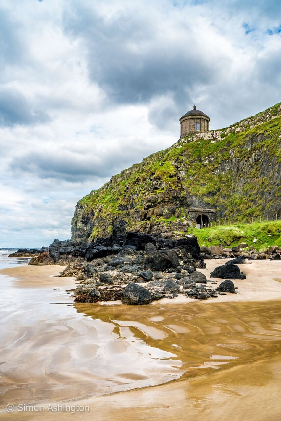 Beach Northern Ireland Northernireland Mussenden Temple Sea Photography Photo Taking Photos