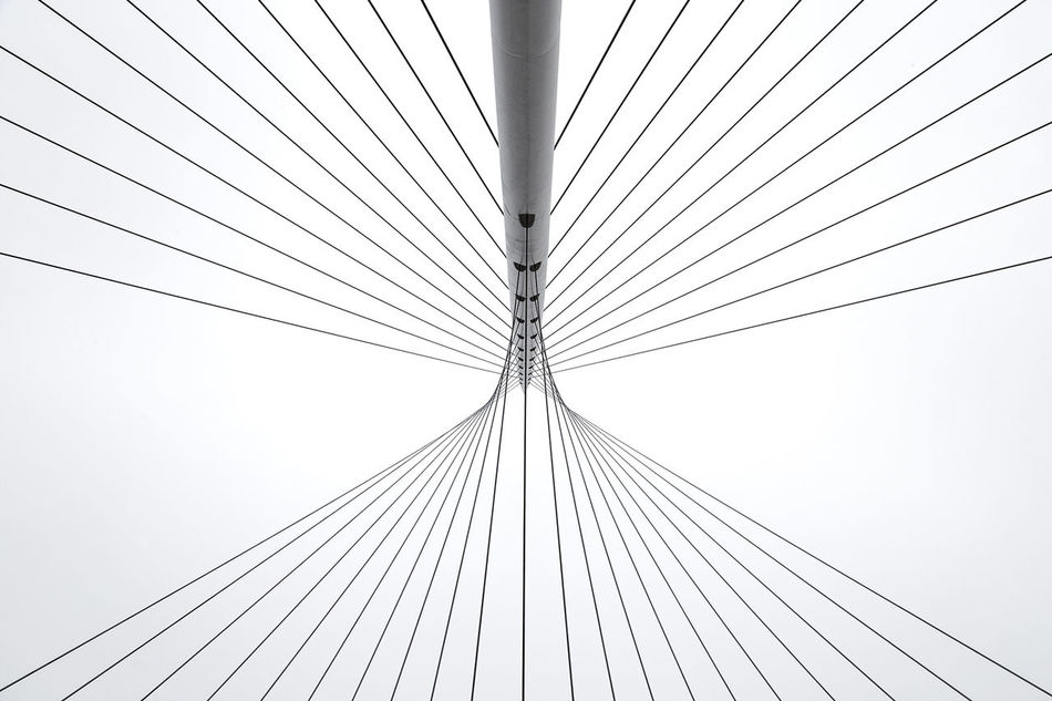 Architecture Built Structure Cable Composition Connection Day EyeEm Best Shots EyeEm Gallery EyeEmBestPics Eyeemgroupnederland EyeEmNewHere Lines Lines And Patterns Lines And Shapes Lines&Design Lines, Shapes And Curves Lookingup Low Angle View No People Outdoors Sky