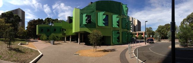 Panorama Architecture Urban Geometry Cool Building