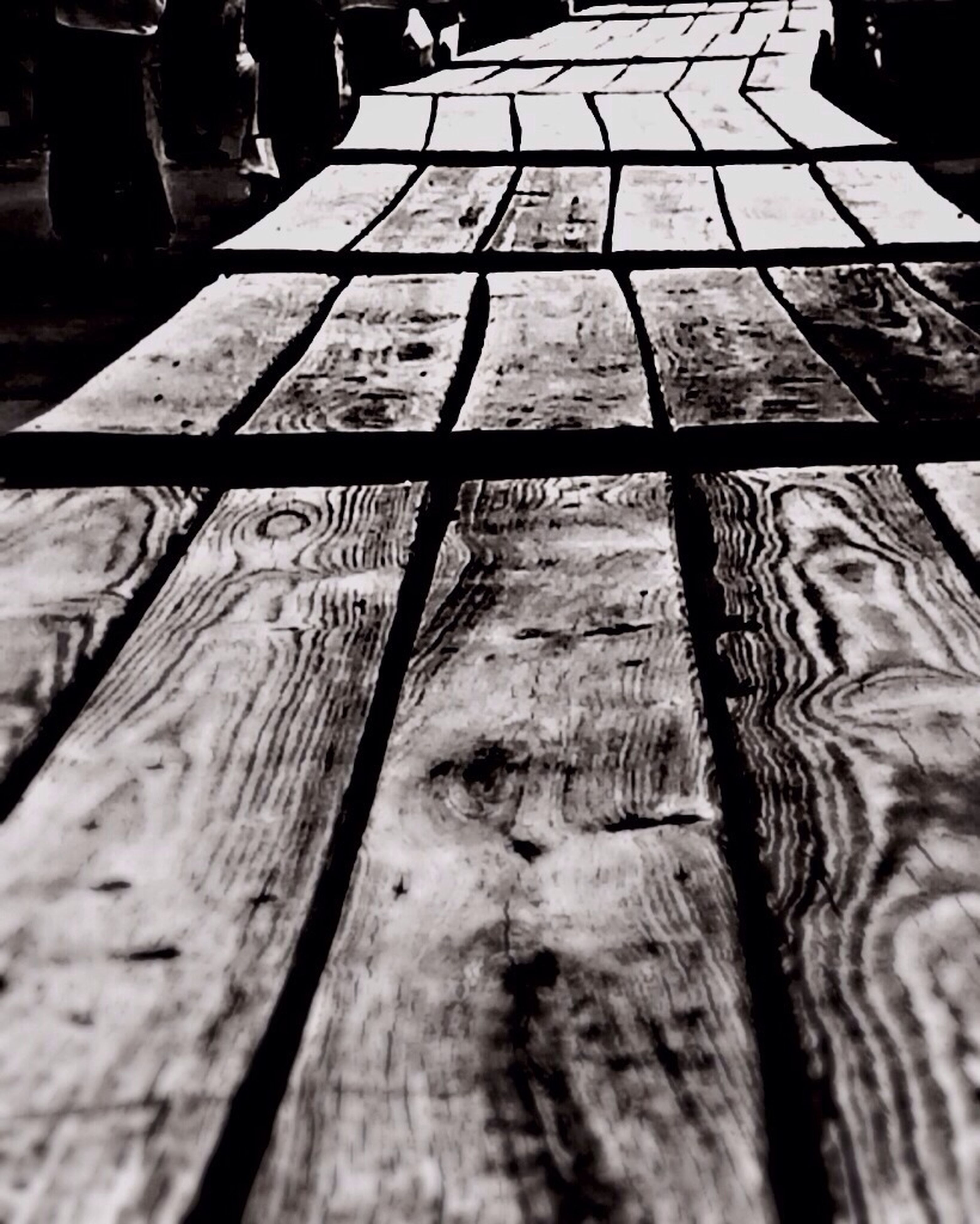 wood - material, wooden, textured, pattern, plank, selective focus, wood, steps, close-up, surface level, boardwalk, the way forward, shadow, steps and staircases, sunlight, indoors, railing, diminishing perspective, high angle view, no people
